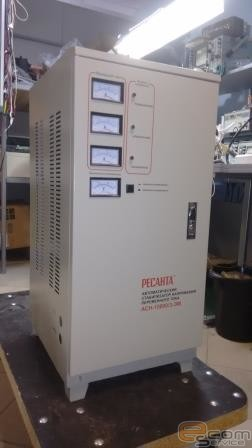 Ремонт автоматического стабилизатора напряжения переменного тока Ресанта АСН-15000З ЭМ