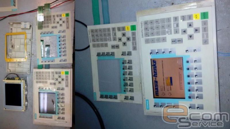 Ремонт промышленной панели Siemens Simatic Panel touch