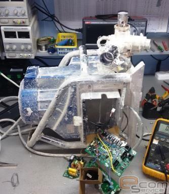 Ремонт шпаклевочного аппарата T-MAX